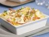 Tagliatelles de crevettes au parmesan - Sanmac