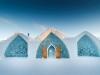 Un hôtel de glace au Canada  - Sanmac
