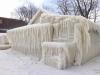 Une maison prise par la glace  - Sanmac